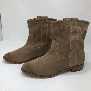 Toms Laurel Boho Slouch Amphora Burnish Suede Boot